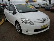 2012 Toyota Corolla ZRE152R MY11 Ascent Sport White 4 Speed Automatic Hatchback Minchinbury Blacktown Area Preview