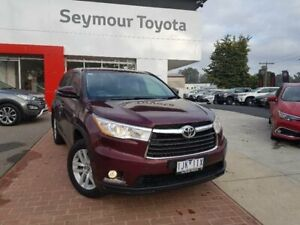2016 Toyota Kluger GSU50R GX (4x2) Deep Red 6 Speed Automatic Wagon Kilmore Mitchell Area Preview