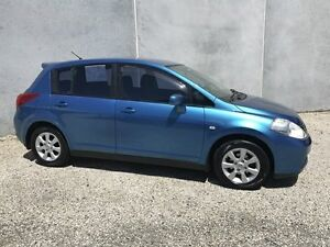 2006 Nissan Tiida C11 Q Blue 4 Speed Automatic Hatchback Seaford Frankston Area Preview