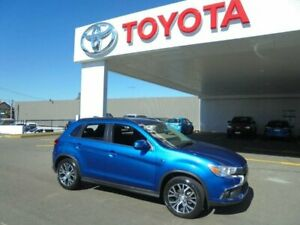 2017 Mitsubishi ASX XC MY18 LS (2WD) Blue Continuous Variable Wagon Belmore Canterbury Area Preview