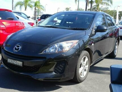 2013 Mazda 3 BL Series 2 MY13 Neo Black 5 Speed Automatic Hatchback South Nowra Nowra-Bomaderry Preview