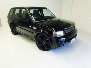 2012 Land Rover Range Rover Sport L320 12MY SDV6 CommandShift Luxury Black 6 Speed Sports Automatic Wangara Wanneroo Area Preview