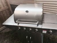 Tera Gear Stainless Steel BBQ with side burner