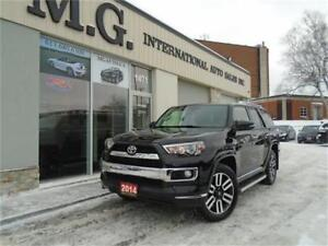 2014 Toyota 4Runner 7 PASS. LIMITED V6 4WD w/Leather/Roof/Navi