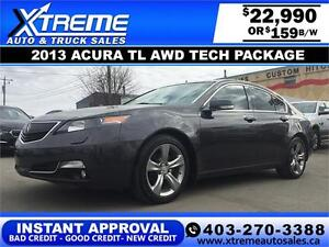 2013 Acura TL AWD Tech Package $159 b/w APPLY NOW DRIVE NOw