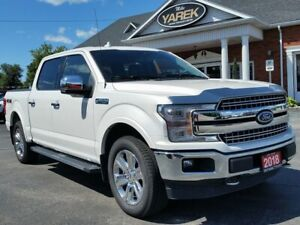 2018 Ford F-150 Lariat 4x4, Leather Heated/Cooled Seats, NAV, Pa