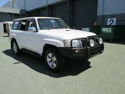 2006 Nissan Patrol GU IV MY05 ST White 5 Speed Manual Wagon Coopers Plains Brisbane South West Preview