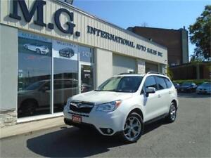 2016 Subaru Forester i Limited AWD w/Leather/Navi/Pano Roof