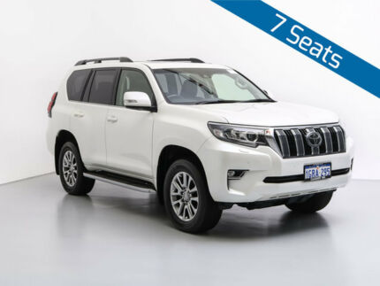 2017 Toyota Landcruiser Prado GDJ150R MY17 Kakadu (4x4) White 6 Speed Automatic Wagon Jandakot Cockburn Area Preview