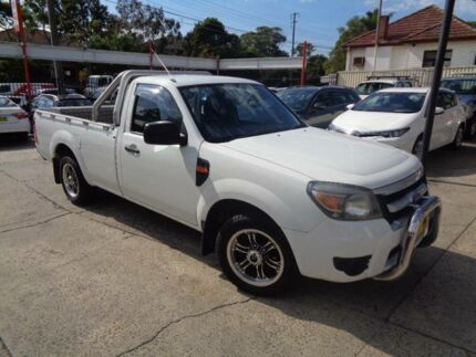 2009 Ford Ranger PK XL (4x2) White 5 Speed Manual Cab Chassis Sylvania Sutherland Area Preview