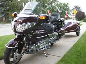 Goldwing With Color Matched Scarab Trailer