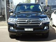 2016 Toyota Landcruiser VDJ200R MY16 Sahara (4x4) Black 6 Speed Automatic Wagon South Nowra Nowra-Bomaderry Preview