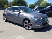 2013 Hyundai Veloster FS3 Street Coupe D-CT Silver 6 Speed Sports Automatic Dual Clutch Hatchback Bundall Gold Coast City Preview
