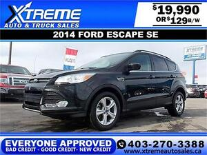 2014 Ford Escape SE EcoBoost $129 bi-weekly APPLY NOW DRIVE NOW