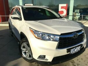 2015 Toyota Kluger GSU50R Grande (4x2) Crystal Pearl 6 Speed Automatic Wagon Kilmore Mitchell Area Preview