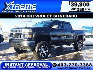 2014 Chevy Silverado LIFTED $259 BI-WEEKLY APPLY NOW DRIVE NOW