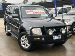 2011 Mitsubishi Pajero NW MY12 GLS LWB (4x4) Grey 5 Speed Auto Sports Mode Wagon Werribee Wyndham Area Preview