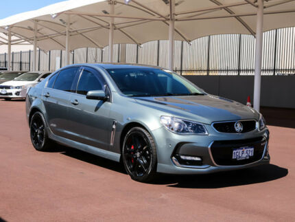 2015 Holden Commodore VF II MY16 SS V Redline Prussian Steel 6 Speed Sports Automatic Sedan Morley Bayswater Area Preview