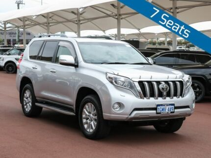 2014 Toyota Landcruiser Prado KDJ150R MY14 Kakadu (4x4) Silver 5 Speed Sequential Auto Wagon Jandakot Cockburn Area Preview