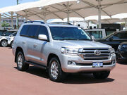 2017 Toyota Landcruiser VDJ200R MY16 VX (4x4) Silver Pearl 6 Speed Automatic Wagon Jandakot Cockburn Area Preview