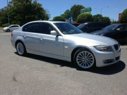 2010 BMW 320D E90 MY10 Executive Steptronic Silver 6 Speed Sports Automatic Sedan