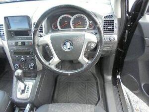 2008 Holden Captiva CG MY08 CX AWD Black 5 Speed Sports Automatic Wagon