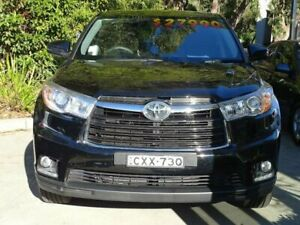 2015 Toyota Kluger GSU50R GX (4x2) Black 6 Speed Automatic Wagon Ulladulla Shoalhaven Area Preview