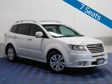 2013 Subaru Tribeca MY13 3.6R Premium (7 Seat) White 5 Speed Auto Elec Sportshift Wagon Jandakot Cockburn Area Preview
