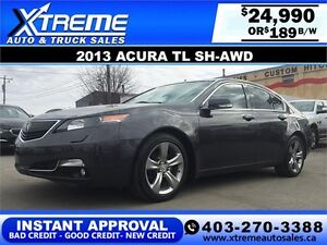 2013 Acura TL AWD Tech Package $189 b/w APPLY NOW DRIVE NOw