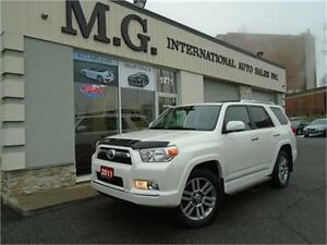 2011 Toyota 4Runner Limited 4WD 7 Pass. W/Leather/Navi/Roof/DVD