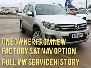 2015 Volkswagen Tiguan 5N MY15 132TSI DSG 4MOTION Silver 7 Speed Sports Automatic Dual Clutch Wagon Gympie Gympie Area Preview