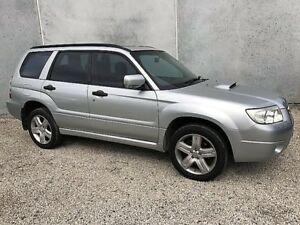 2005 Subaru Forester MY06 XT Luxury Silver 4 Speed Auto Elec Sportshift Wagon