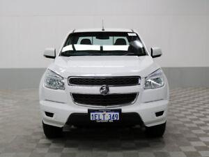2014 Holden Colorado RG MY14 LX (4x4) White 6 Speed Automatic Crew Cab Pickup