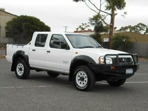 2006 Nissan Navara D22 Series 2 DX (4x4) White 5 Speed Manual 4x4 Dual Cab Pick-up Maidstone Maribyrnong Area Preview
