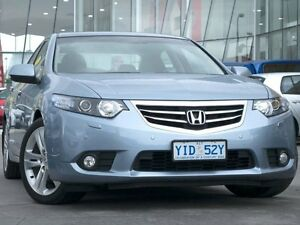 2011 Honda Accord Euro CU MY11 Luxury Blue 5 Speed Automatic Sedan Pearce Woden Valley Preview