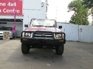 1999 Toyota Hilux LN167R Maroon 5 Speed Manual Cab Chassis Coopers Plains Brisbane South West Preview