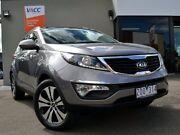 2013 Kia Sportage SL MY13 Platinum Grey 6 Speed Sports Automatic Wagon Fawkner Moreland Area Preview