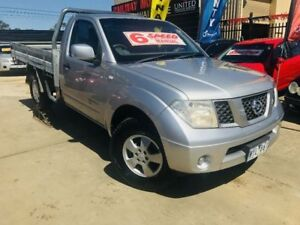2009 Nissan Navara D40 RX (4x4) Silver 6 Speed Manual Cab Chassis Werribee Wyndham Area Preview