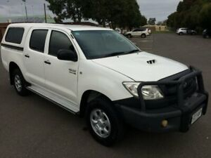 2011 Toyota Hilux KUN26R MY11 Upgrade SR (4x4) 5 Speed Manual Dual Cab Pick-up Clarence Gardens Mitcham Area Preview