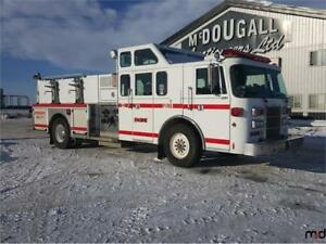 1992 Pierce Lance Superior S/A Pumper Truck UNRESERVED