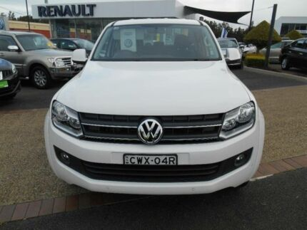 2015 Volkswagen Amarok 2H MY14 TDI420 Trendline (4x4) Candy White 8 Speed Automatic Dual Cab Utility Port Macquarie 2444 Port Macquarie City Preview