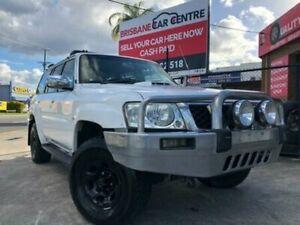 2006 Nissan Patrol GUIV White Automatic Wagon Enoggera Brisbane North West Preview