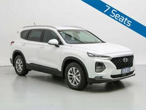 2019 Hyundai Santa Fe TM Active CRDi (AWD) White Cream 8 Speed Automatic Wagon Jandakot Cockburn Area Preview