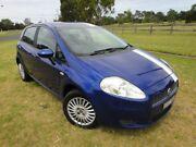 2006 Fiat Punto Dynamic Blue & White Stripes 5 Speed Manual Hatchback Mordialloc Kingston Area Preview