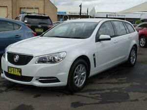 2015 Holden Commodore VF MY15 Evoke White 6 Speed Automatic Sportswagon South Nowra Nowra-Bomaderry Preview