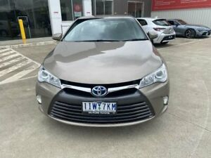 2015 Toyota Camry AVV50R MY15 Altise Hybrid Magnetic Bronze Continuous Variable Sedan Kilmore Mitchell Area Preview