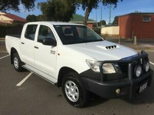 2012 Toyota Hilux KUN26R MY12 SR (4x4) 5 Speed Manual Dual Cab Pick-up Clarence Gardens Mitcham Area Preview