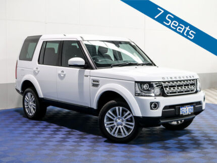 2014 Land Rover Discovery MY15 3.0 SDV6 HSE Fuji White 8 Speed Automatic Wagon Morley Bayswater Area Preview