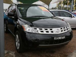 2007 Nissan Murano Z50 TI-L Black 6 Speed Constant Variable Wagon Mount Druitt Blacktown Area Preview