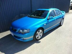 2003 Ford Falcon BA XR6 Blue 4 Speed Sports Automatic Sedan Kippa-ring Redcliffe Area Preview
